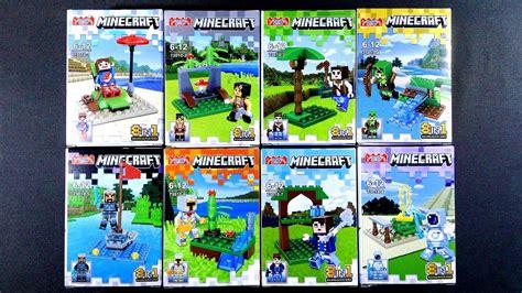 Lego Minifigure Two Bootleg lego minecraft minifigures bootleg knock 73010 1 8
