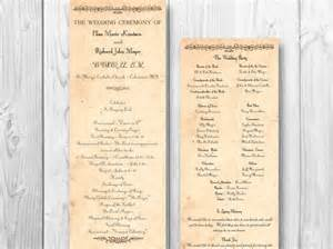 rustic wedding programs rustic country wedding program country order by designedwithamore