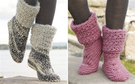 beautiful slippers crochet two beautiful slippers pretty ideas