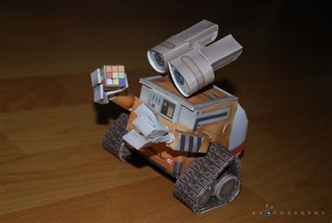 Wall E Papercraft - wall e papercraft 02 by kloudu on deviantart