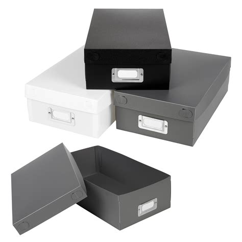 in collapsible storage box set of 3 collapsible storage boxes with lids containers
