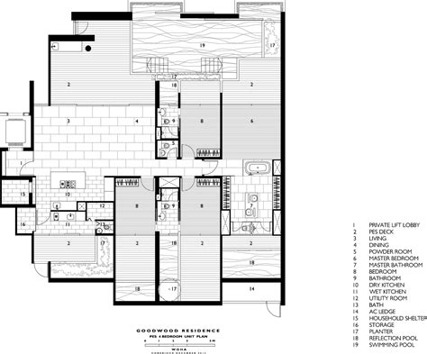 Section 52 Planning by Gallery Of Goodwood Residence Woha 15