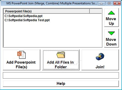ms powerpoint join merge combine multiple presentations