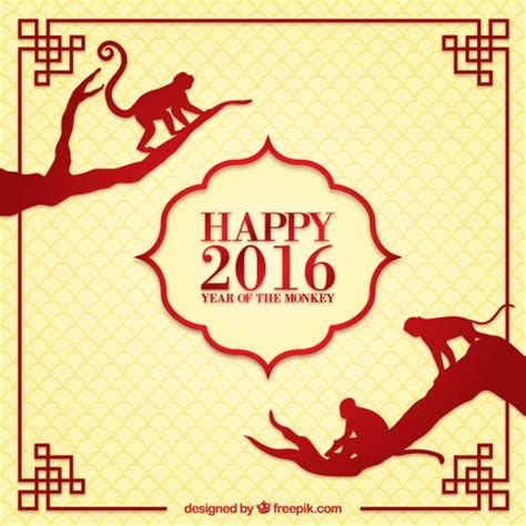 new year 2016 vector free happy chines new year 2016 background vector free