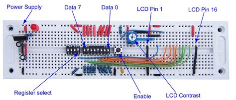 circuit without breadboard hd44780 character lcd displays part 1 protostack