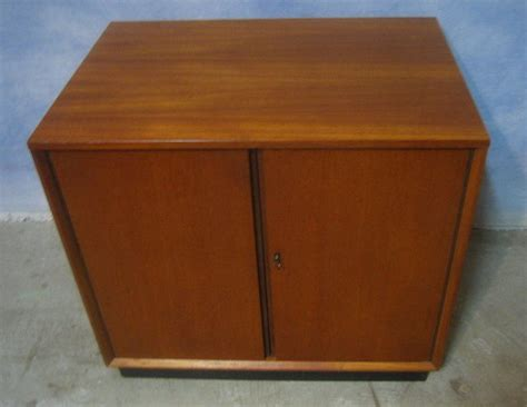 mid century danish record cabinet vintage mid century teak danish modern stand