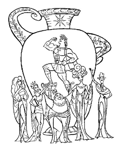 coloring book pages for hercules coloring pages and print hercules