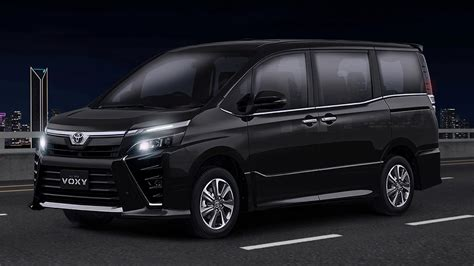 toyota voxy facelift launched  indonesia  cvt