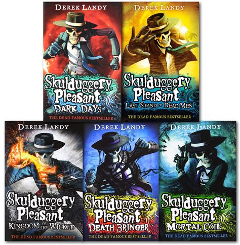 last stand the complete box set books skulduggery pleasant derek landy 5 books set collection