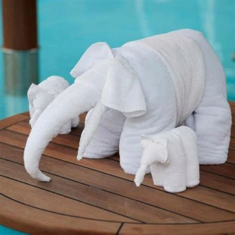 Animal Towel 17 best images about napkin towel folding on