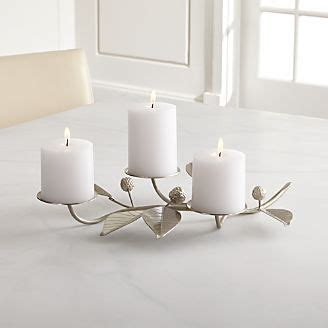 3 Tier Candle Stand by Candle Holders Votive Pillar And Lantern Crate And Barrel