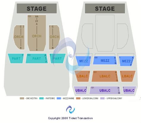 cannon center seating chart keith sweat cannon center for the performing arts tickets