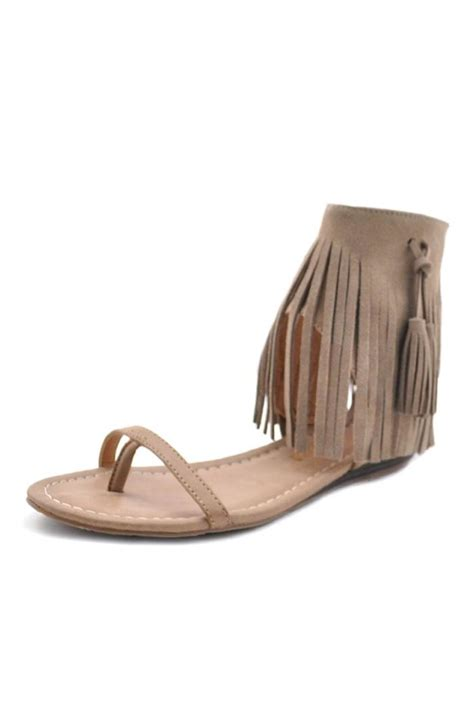 Fringe Sandals fringe sandals 28 images fringe sandal with tassel