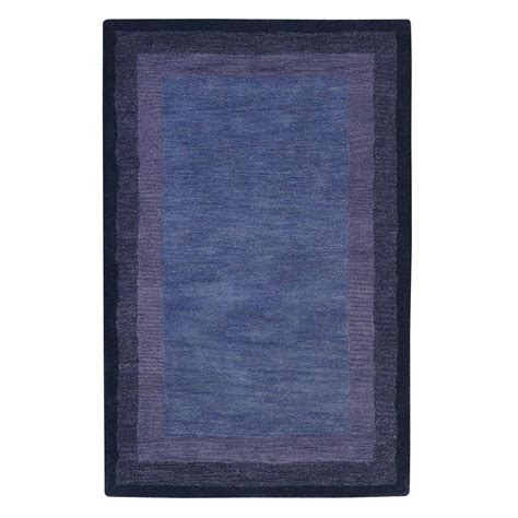 Karolus Area Rug Home Decorators Collection Karolus Blue 9 Ft 9 In X 13 Ft 9 In Area Rug 3242260230 The