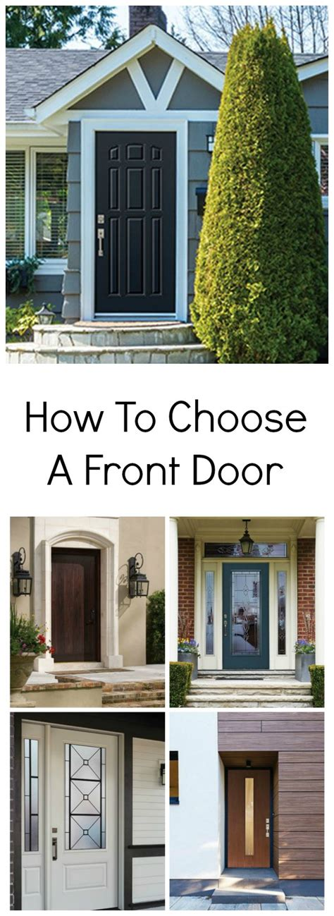 How To Choose A Front Door Brooklyn Berry Designs How To Choose A Front Door