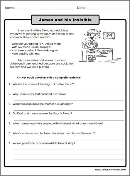 the best seat in second grade comprehension questions worksheet free reading comprehension worksheets for 2nd