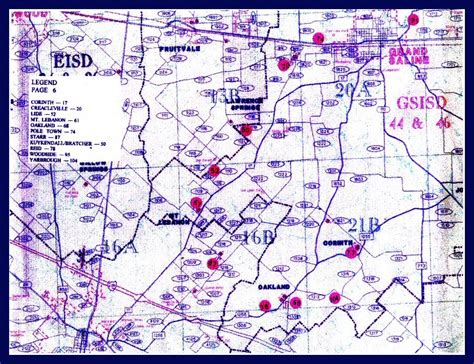 zandt county texas map page 6