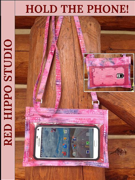 hold the phone hold the phone crossbody smartphone pattern pdf