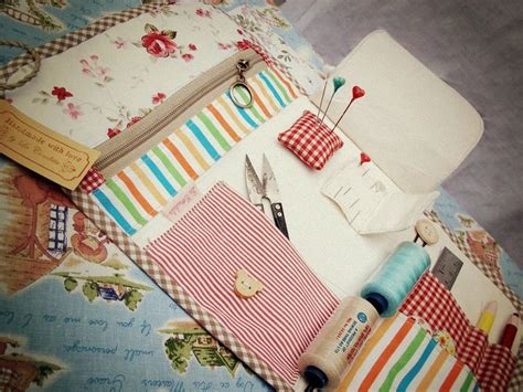 Handmade Kits - my handmade sewing kit sewing stiching tips