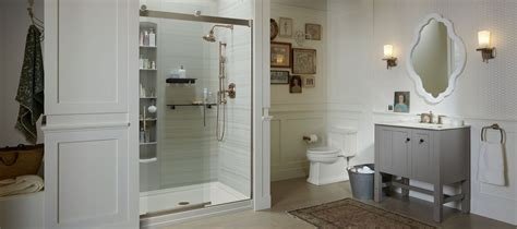 kohler bathtub shower doors shower doors showering bathroom kohler