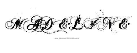 madeline tattoo madeline name designs