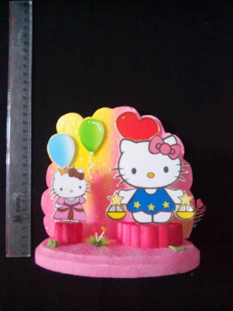 Background Hiasan Kue jual background hiasan kue ulang tahun hello medium hikmahpartyshop