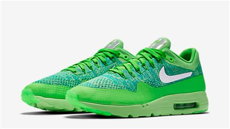 Nike Am Half Flyknit Green nike air max 1 ultra flyknit green the sole supplier