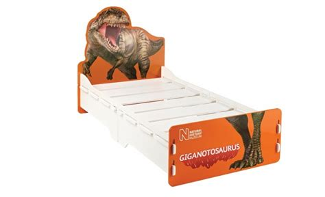 dinosaur toddler bed frame kidsaw natural history museum dinosaur 3ft single fun bed