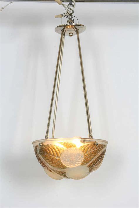 Lalique Chandelier Rene Lalique Chandelier Quot Dahlias Quot For Sale At 1stdibs