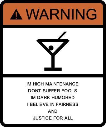 psychology  warning signs    label
