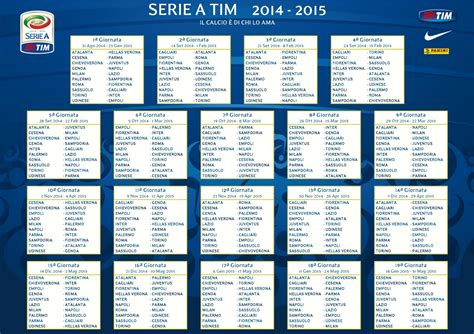 Calendario G Series 2015 Serie A Tim 2014 2015 Topic Ufficiale