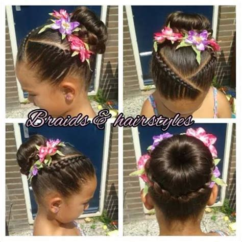 itching african bun hairstyles ballet bun cornrow girls hairstyles pinterest