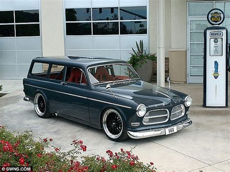 classic volvo sedan fastest car in britain is a grey 1967 volvo daredevil s