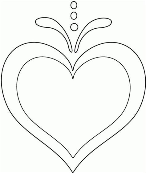 dibujos para colorear de estrellas y corazones imagui dibujos de corazones de amor para imprimir y pintar