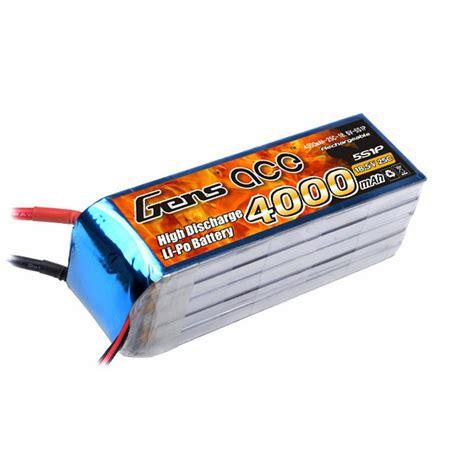 Batery Lipo gens ace 4000mah 18 5v 25c 5s1p lipo battery pack gens ace