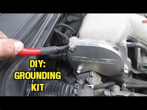 install   grounding kit altima maxima