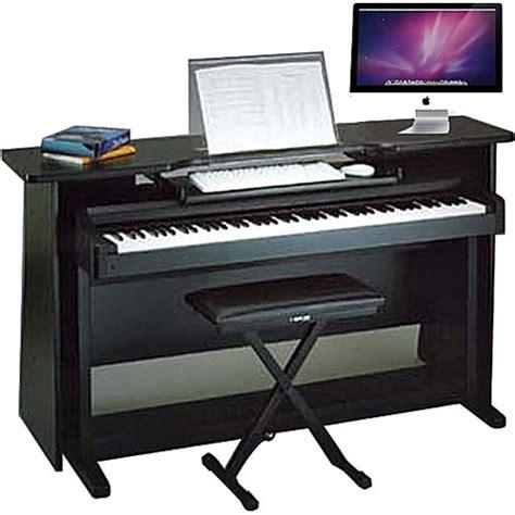 Surround Desk by Omnirax Surround Desk For Digital Piano With Stand