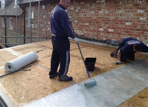 Replacing A Flat Garage Roof by Flat Roof Repair Garage Roofing In Harrogate