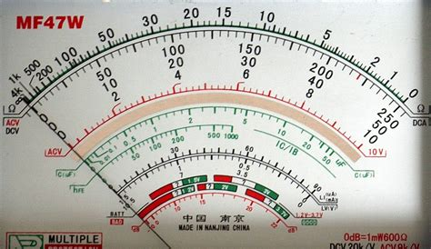 Multitester Flux review mf 47d multimeter ham radio pd0ac