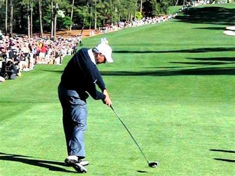 fred couples swing analysis freddy couples driver augusta youtube
