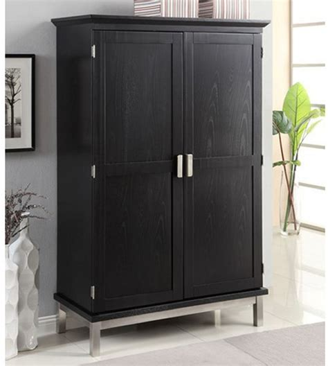 Computer Armoire Black by Computer Armoire Black At Hayneedle