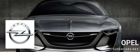 Opel Car Company by Quot O Quot Supercar Sports Car Brands Supercars Net