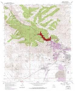bisbee topographic map az usgs topo 31109d8