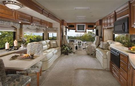 motorhome luxury interiors houses plans designs