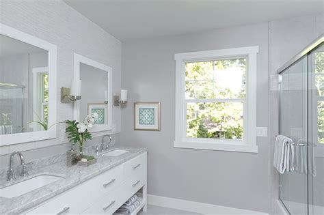 gorgeous in gray transitional bathroom sacramento by kerrie l