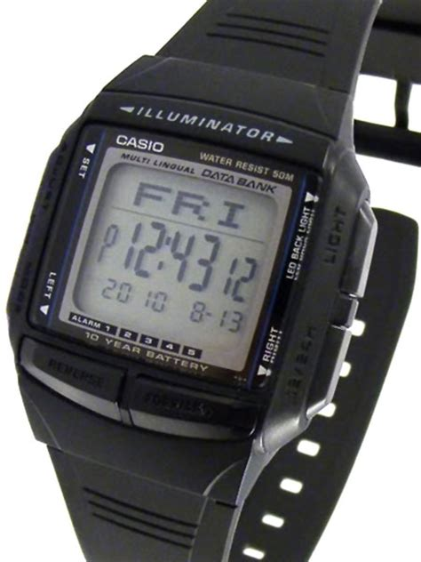 Casio Db 36 1a casio multi lingual digital with alarm dual time