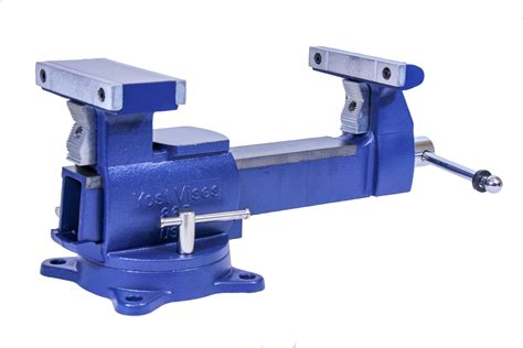 made in usa bench vise yost vises 865 di 6 5 quot heavy duty reversible bench vise