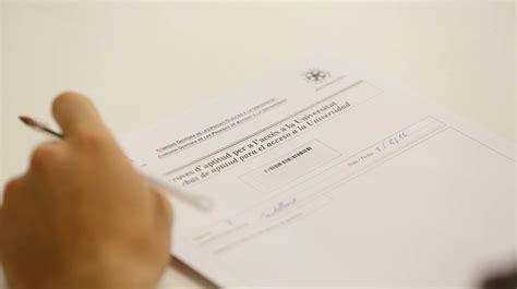 notas de corte universidad valencia notas de corte de la pau 2018 en las universidades de la