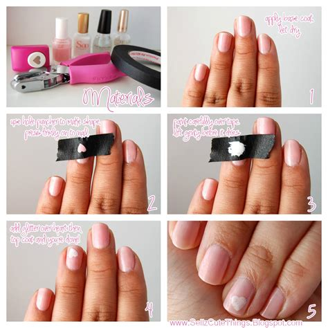 sellzcutethings how to get shapes on your nails
