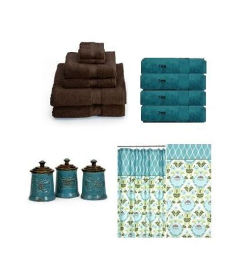 teal and brown bathroom decor 17 best images about bathroom on pinterest oak dresser